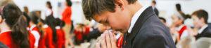 Catholic Boy Praying