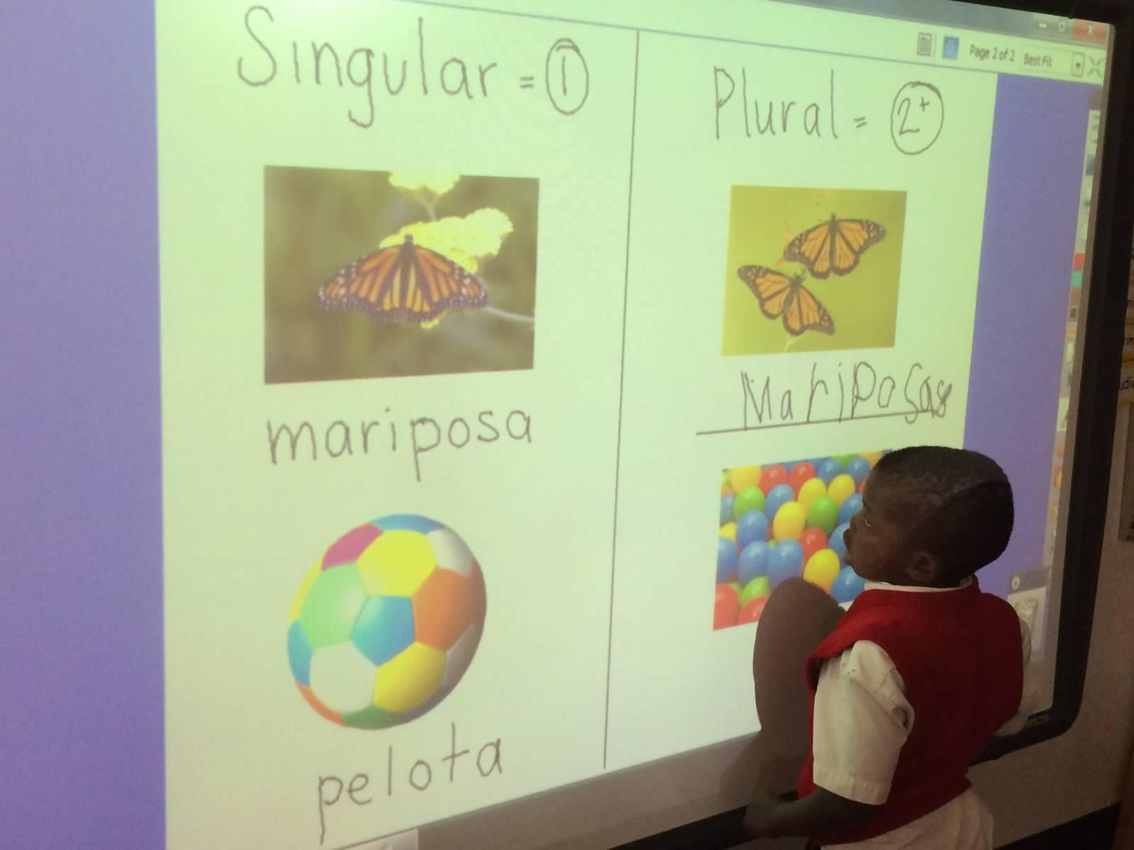 Preschool 3&4 Spanish Class