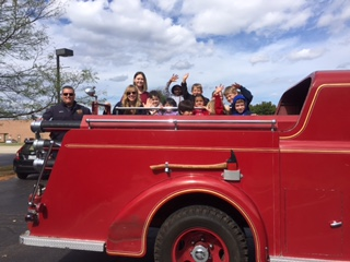 Kindergarten Fire Truck Ride