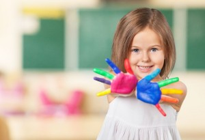 Preschooler Ready for Kindergarten