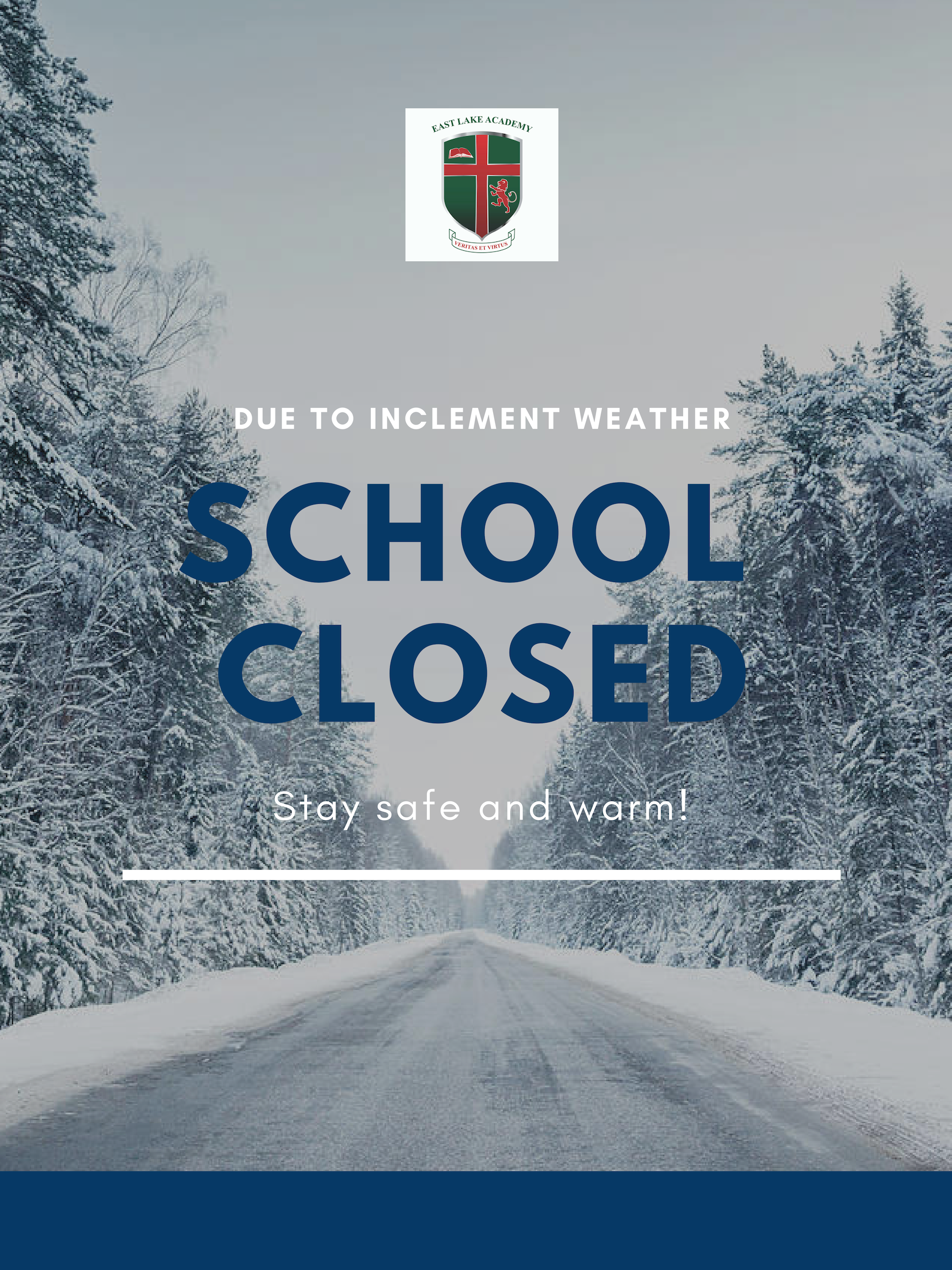 School Closed 1/30&31